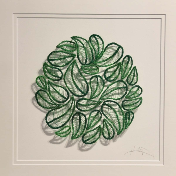 Meredith Woolnough Nature Study 1 Summer Leaves