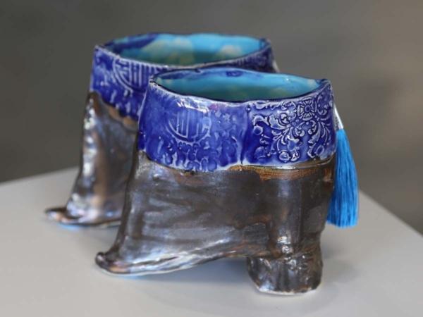 Sinan Revell Lotus Shoes Ming Blue