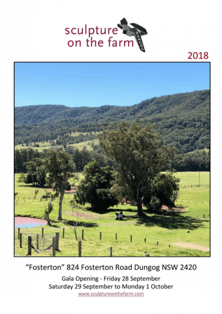 Sculpture On The Farm 2018 Catalogue