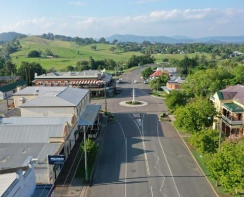 Dungog town