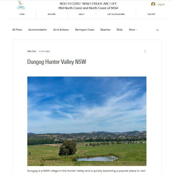 Dungog feature in North Coast NSW Leisure & Life