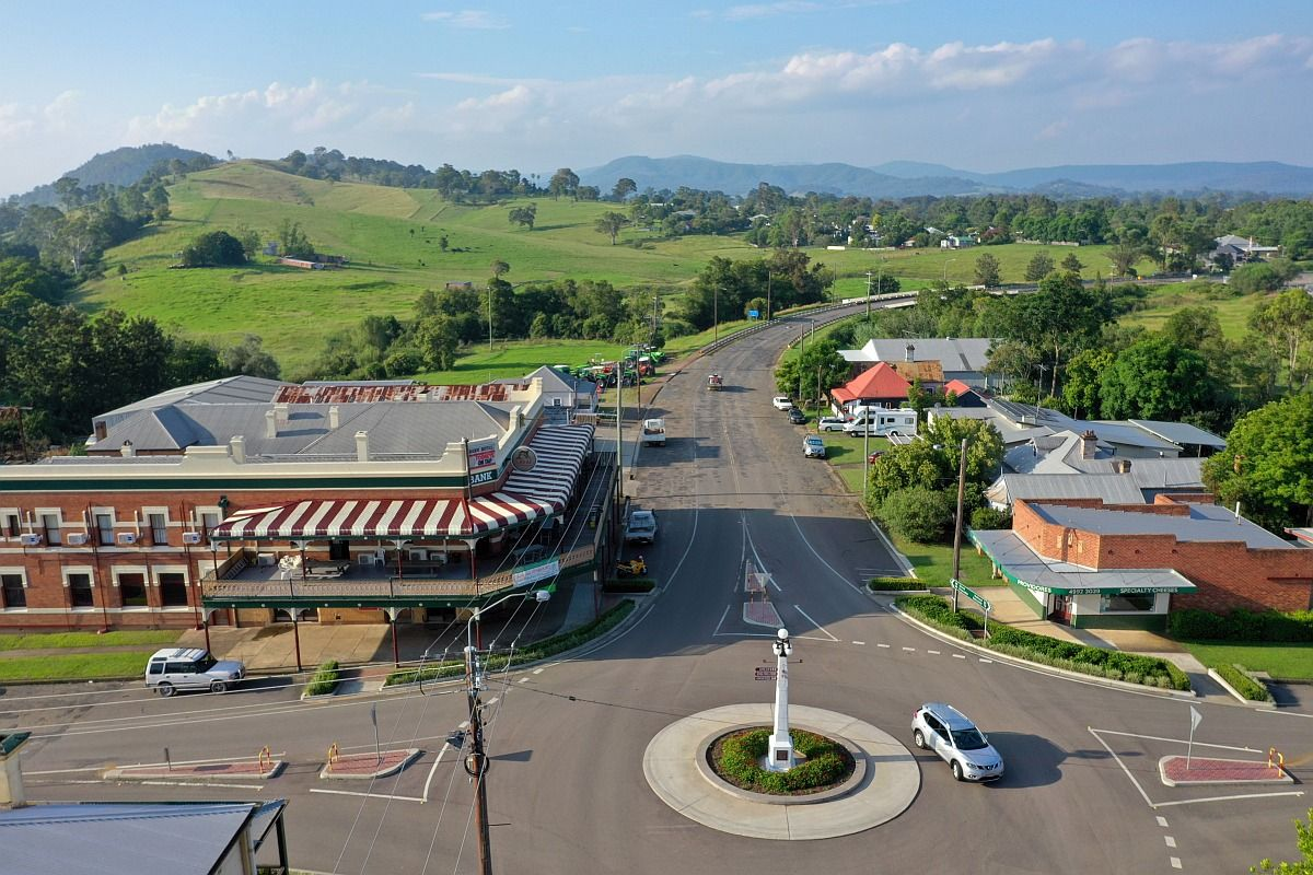 Dungog looking north