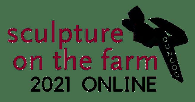 Sculpture on the farm logo
