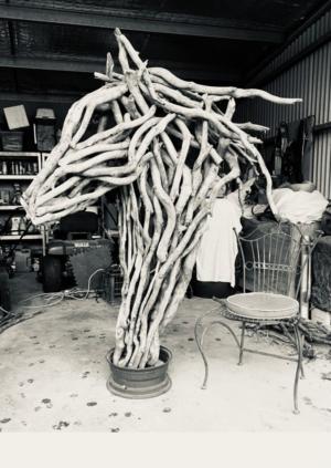 033-1 Vikki Holik-Blazley Blaze Unique steel Garden 2021