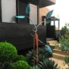 044-2 Rudi Jass Spring Leaves 3 Unique stainlesssteel Garden 2021