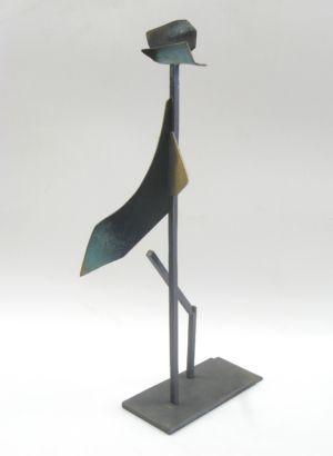 046-1 Inge King Birdman 2006 Unique bronze Indoor 2021