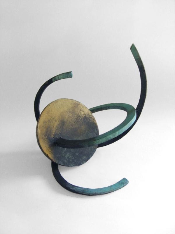 049-1 Inge King Lunar Orbit I 2005 Unique bronze Indoor 2021