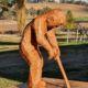 050-1 Stephen King Mudmap IX  timber Garden 2021