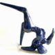 055-1 Peter Lewis Blue Dancer Unique ceramic Indoor 2021