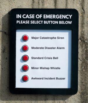 083-1 Michael Pederson In case of emergency 1of10 wood Indoor 2021