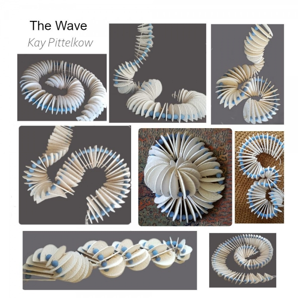 086-1 Kay Pittelkow The Wave Unique ceramic Indoor 2021