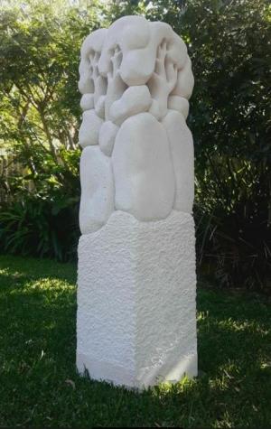 105-1 Peter Simmons Pinnacle  concrete Garden 2021