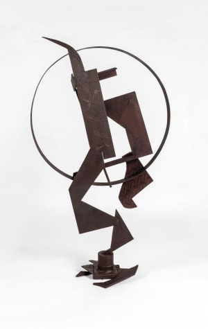 128-1 Johann TovarCarrera Fragmentation  steel Garden 2021