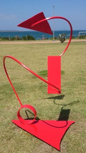 129-1 Johann TovarCarrera RED  steel Garden 2021