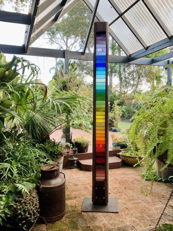 144-1 Ash White Nubia Unique stainedglass Garden 2021